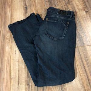 Buckle Black Bootcut Fit 53 Jeans 27 x 32 EUC